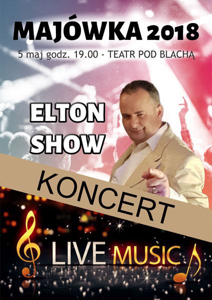 Elton w Kudowie Zdroju koncert w Teatrze pod Blachą