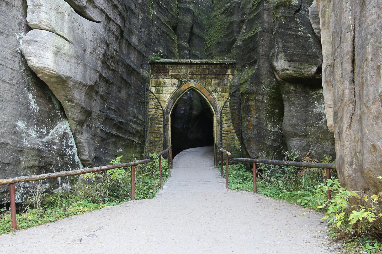 Brama Gotycka w Adrspachu