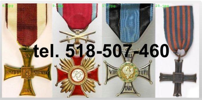 Kupię medale ordery